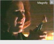 Gillian Anderson in the X-Files